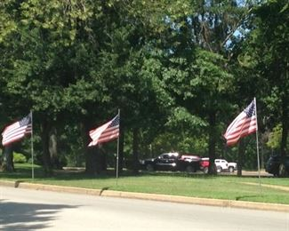 Speaking of flags .  .  . thank your veterans when you see them!!!
