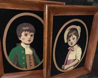 Retro paintings