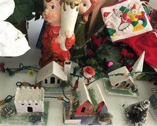 Vintage Christmas Houses