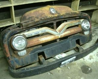 1955 ford front end