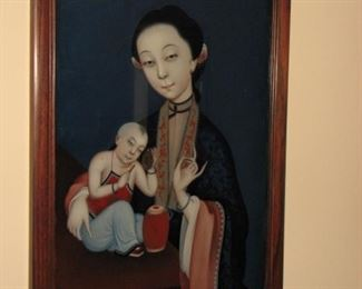 Chinese Woman with Child