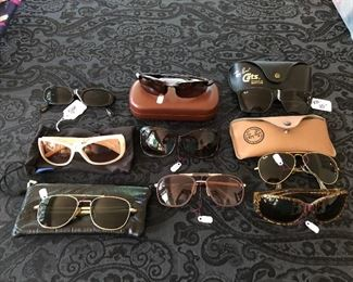 Lots of Designer sunglasses