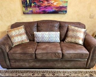 Couch sold. Japanese Silk Pillows available.