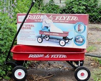 """Radio Flyer 34"""" Steel Wagon"""