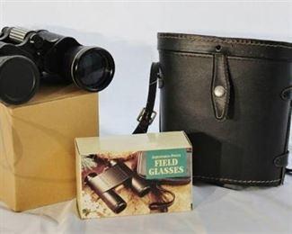 Halina Binoculars 7 x 50 with case