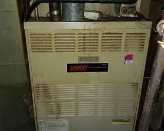 Lennox Elite Series Furnace & 7 furnace filters