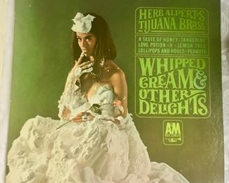 Whipped Cream & Other  Delights LP