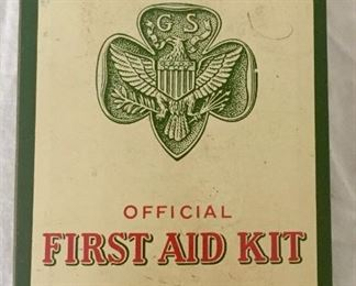 Girl Scouts Official First Aid Kit