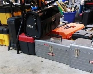 Metal And Plastic Tool Boxes