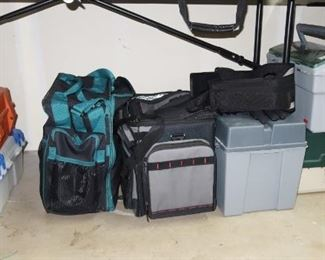Tackle Boxes, Most Are Full Of Lures And Other Fishing Equipment