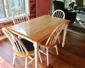 Another Dining Table w/4 Chairs
