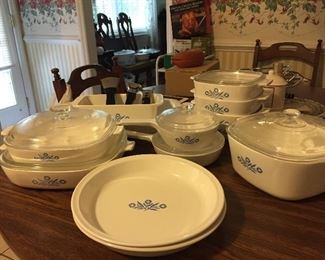 19 piece Corningware set.