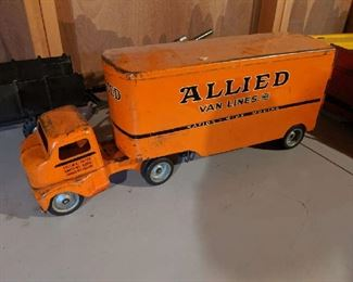 Very old toy allied van lines truck