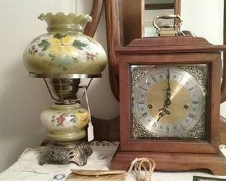 Lamp & Clock