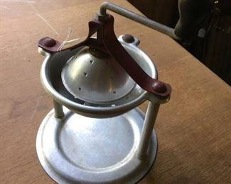Vintage kitchen grinder