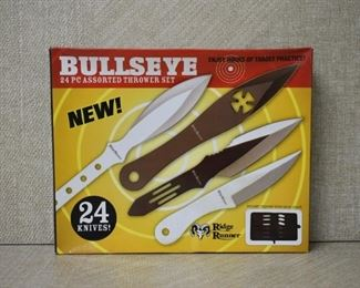 24 Pc Ridge Runner Bulls-eye  Thrower Set