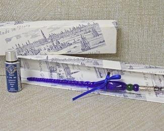 Murano Glass Ink Pen