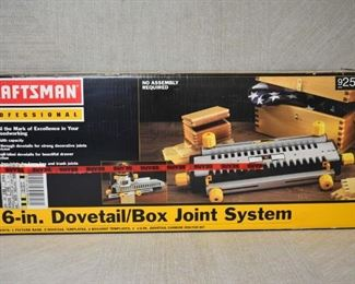 Craftsman Dovetail/Box Joint System