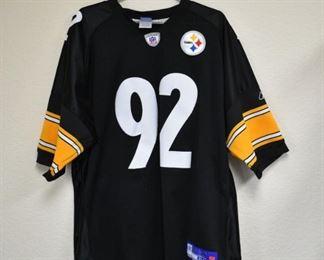 Steelers Jersey #92 Harrison Size 54