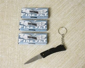 3 Key Ring Pocket Knives