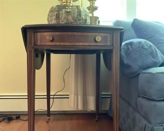 Tradition House Inc. Drop Leaf Side Table