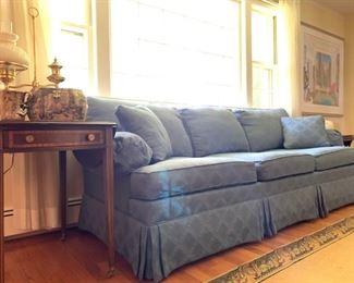 Ethan Allen Three Seat Sofa
