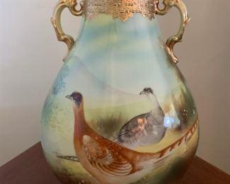 Signed Nippon Vase