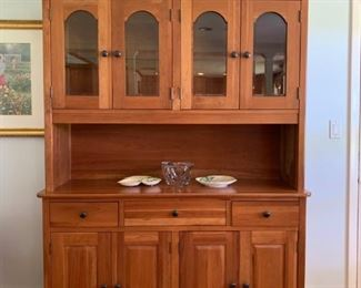 Solid Cherry Hutch by Richardson Brothers