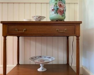 Marble Top Side Tables- Pair