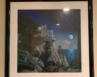 Serigraph, Signed and Numbered