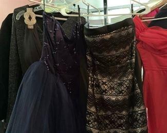 Womens Clothes, Gowns, Dresses, Coats, etc