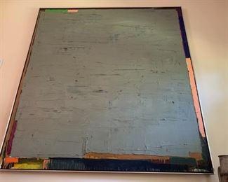 "Artist Frank Campion  67""x 71"""