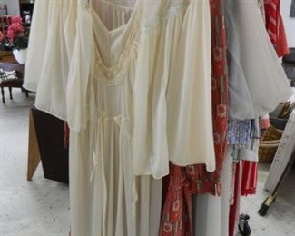 Vintage gowns, penquior sets, gowns & pajamas from the 1970 & 1980's - some designer labels