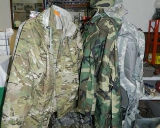 Military clothing, Camo rain suits (2)
