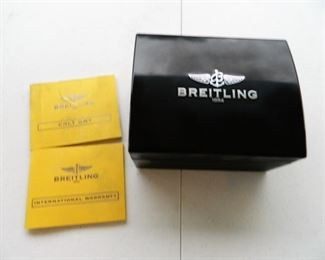 Breitling Colt Watch with paperwork