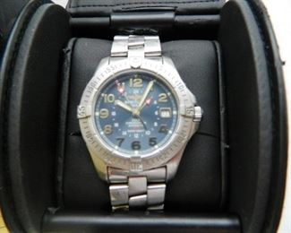 Breitling Colt Watch with info