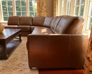 Leather Sectional from Jaymar