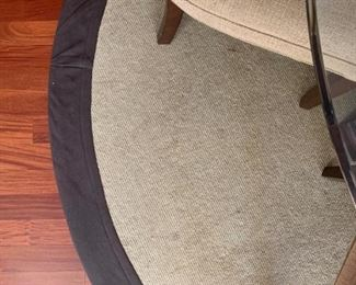 Natural Area Rug, Round