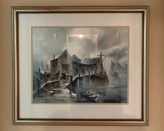 Watercolor, Signed John Hare