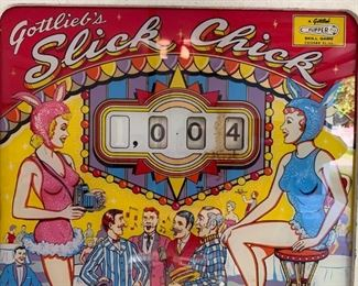 Slick Chick Pin Ball from Gottlieb, 1963