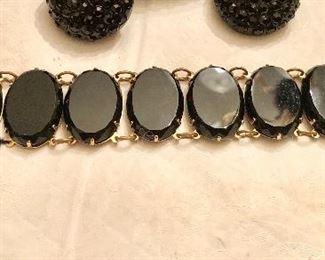 Cool black bracelet
