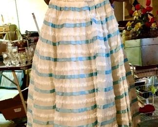 Will steinman gowns were highly sought after   They specialized in wedding, debutant and ball gowns . This probably a debutant gown circa 1953