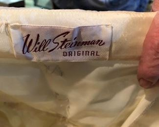Will steinman original gown Steinman gowns were $125-$350 in the late 40s- early 1950s