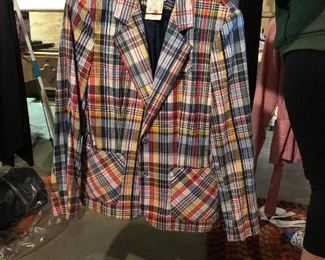 If you didn't wear MADRAS PLAID IN ThE1960's you were NOWHERE!