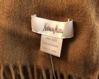 Never worn cashmere shawl from Jacobson's