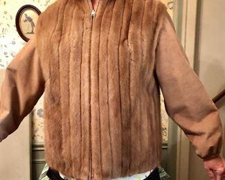 Perfect mink jacket