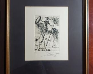 Signed Salvador Dali Artist's Proof