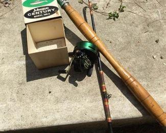 Vintage Fishing Rod & Reel https://ctbids.com/#!/description/share/188702