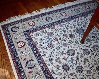 Hand knotted Persian rug, approx. 8' X 10'