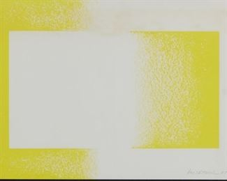 Richard Anuszkiewicz (b. 1930). Op-art serigraph on paper. Pencil signed and dated 1970 along the lower right.  SKU: 01855 Follow us on Instagram: @revereauctions